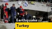 Massive earthquake collapses buildings in Turkey