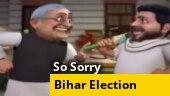 So Sorry | Bihar polls: Tumse na ho payega, Nitish Kumar tells Tejashwi Yadav