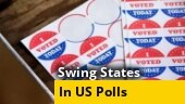 Watch: Which swing states could decide the US election