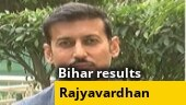 Bihar election results: People have a sense of confidence in BJP, says Rajyavardhan Rathore