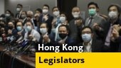 Hong Kong's pro-democracy lawmakers resign