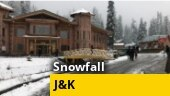 First snowfall in higher reaches of Jammu and Kashmir