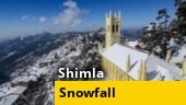 Shimla, Manali witness season's first snowfall