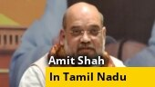 Amit Shah lands in Chennai, welcomed by CM Palaniswami, Dy CM Panneerselvam