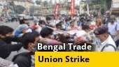 Trade union strike partially affects normal life in West Bengal
