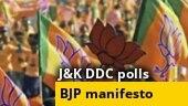 J&K DDC polls: BJP releases manifesto, promises 70,000 jobs