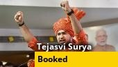 BJP MP Tejasvi Surya booked for 'criminal trespass' in Hyderabad