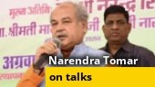 Ready for talks, but farmers' unions should create atmosphere for it: Agriculture Minister Narendra Tomar