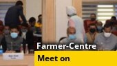 Talks between farmers' representatives and Centre begins at Vigyan Bhawan