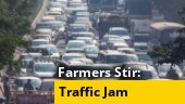 Farmers' protest: Cop makes way for ambulance stuck in traffic jam on DND flyway