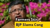 Cong protesting for sake of its existence, Ravi Shankar Prasad slams Opposition over farm laws