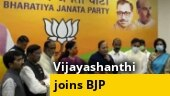 Actor Vijayashanthi joins BJP