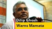 After attack on Nadda convoy, BJP's Dilip Ghosh vows 'revenge', warns Mamata govt