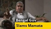 Bengal Guv slams Mamata over 'worsening' law and order in Bengal