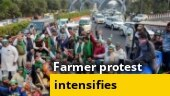 Security at Delhi borders increased after farmers' announcement to intensify stir