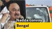 Nadda Convoy Attack: Mamata Banerjee vs Narendra Modi govt over IPS officers