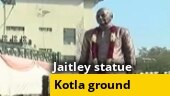 Image of the day: Arun Jaitley's statue unveiled at Delhi's Feroz Shah Kotla