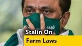 DMK chief Stalin writes to Tamil Nadu CM on farm laws