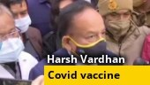 Harsh Vardhan visits Delhi hospital as dry run for coronavirus vaccination begins in India