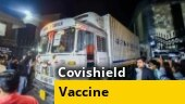 First consignment of Covishield leaves for Delhi from Pune