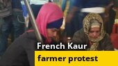 Farmer protest: Meet the 'French Kaur' at Delhi's Singhu border