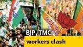 BJP, TMC workers clash ahead of Suvendu Adhikari's rally in East Midnapore