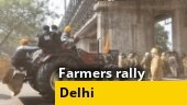 Farmers' tractor rally: Tractor dashes towards cops at Delhi's ITO | Ground report
