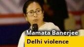 Mamata Banerjee blames Centre for Delhi violence