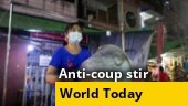 Anti-coup protests in Myanmar; Putin-critic Alexei Navalny sentenced; more