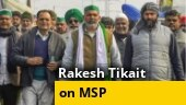 Protest not politically motivated, want law on MSP: Rakesh Tikait
