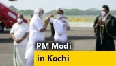 PM Modi reaches Kochi to lay foundation stones of several projects