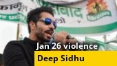 Republic Day violence: Delhi court extends Deep Sidhu's police custody by 7 days