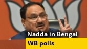 WB polls: BJP president JP Nadda launches Sonar Bangla mission