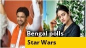 West Bengal polls: Star Wars in Bengal's battlefield