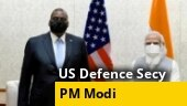WATCH: PM Modi meets US Defence Secretary Lloyd Austin