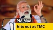 BJP works on schemes, TMC works on scams: PM Modi at Bankura rally