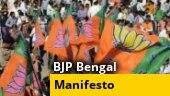 BJP's Bengal manifesto: What to expect | Ground Report