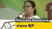 BJP plotted attack to stop my campaign: Mamata Banerjee