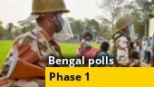 West Bengal Election 2021 Phase 1: War of words between BJP and TMC, incidents of violence, more