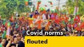 Why Covid norms are not followed for election campaign?