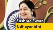 Sushma Swaraj's daughter hits back at Udhayanidhi Stalin over remarks on PM Modi