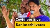 Tamil Nadu polls: Covid-19 positive Kanimozhi casts her vote in Chennai