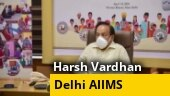 Union Health Minister Harsh Vardhan to visit Delhi AIIMS today