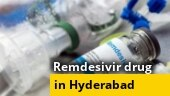 People queue outside drug outlet company to buy Remdesivir in Hyderabad