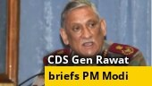 CDS Gen Rawat briefs PM Modi, says retired armed forces medical personnel being recalled for Covid duty