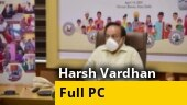 Pace of Covid recovery is equally fast as speed of infection: Union Health Minister Harsh Vardhan