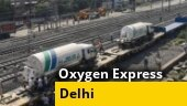Delhi receives second 'Oxygen Express', third on way from Angul