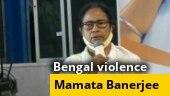 Mamata Banerjee calls urgent meeting over post-poll violence