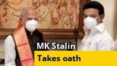 DMK chief MK Stalin sworn in as Tamil Nadu CM