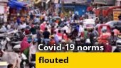 Watch | How people are flouting Covid norms in different parts of the country